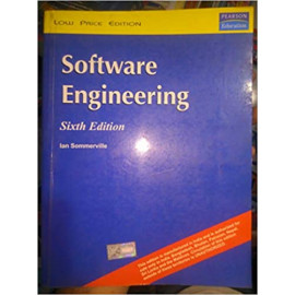 Software Engineering, Ian Sommerville BY-LANE Sommerville sixth edition old book