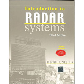 Introduction to Radar Systems by-merrill I. skolnik old book TMH