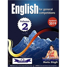 ENGLISH FOR GENERAL COMPETITIONS VOL. 2 (UPDATED - 2019) BY-NEETU SINGH