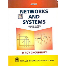 Networks and Systems by D. Roy Choudhury Second Edition old book