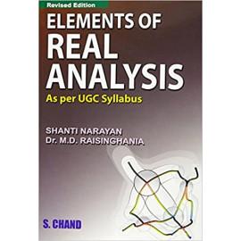 Elements of Real Analysis BY-Narayan Shanti एवं Raisinghania M.D. OLD BOOK