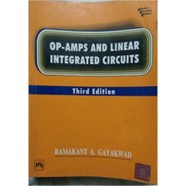 OP-AMPS AND LINEAR INTEGRATED CIRCUITS BY RAMAKANT A GAYAKWAD eEE edition OLD BOOK