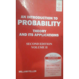 AN INTRODUCTION TO PROBABILITY THEORY AND ITS APPLICATIONS SECOND EDITION VOLL-II BY-WILLIAM FELLER OLD BOOK