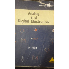 Analog and Digital Electronics BY-P.RAJA 2ND EDITION OLD BOOK