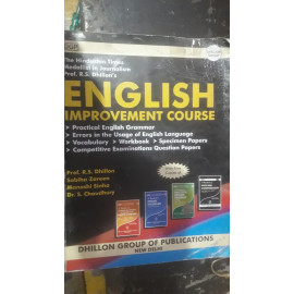 English Improvement Course BY- Rajinder S. Dhillon OLD BOOK