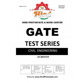 GATE TEST SERIES 2019 ; Civil Engineering ( IES MASTER )