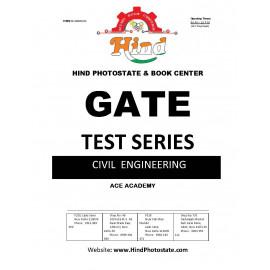GATE TEST SERIES 2019 ; Civil Engineering (ACE ACADEMY  )