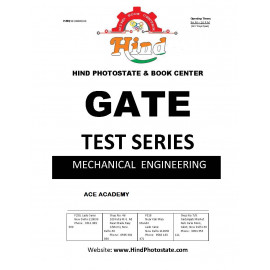 GATE TEST SERIES 2019 ; MECHANICAL  ENGINEERING   ( ACE ACDEMY  )