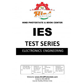 IES PRELIMS TEST SERIES 0FFLINE WITH SOLUTI0N ELECTRONIC ENGINEERING 2018-Tech & Nontec ( MADE EASY )