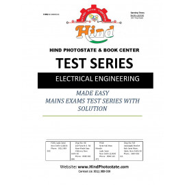 IES MAINS TEST SERIES ELECTRICAL ENGINEERING 2018 ( MADE EASY )