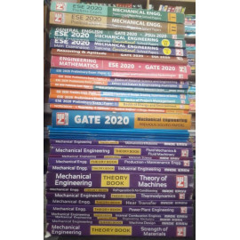 Mechanical Engineering Classroom Study Package Original Books - 2020-2021 : for ESE, GATE & PSUs (Set of Books-38 Made Easy)