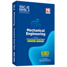 SSC: JE ME Engg. - Prev. Yr Conv. Solved Papers II Made Easy