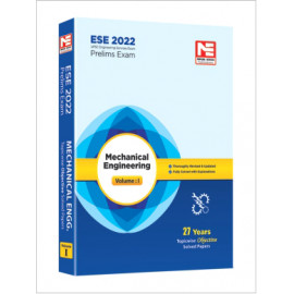 ESE 2022: Preliminary Exam: Mechanical Engg. Vol-1 MADE EASY