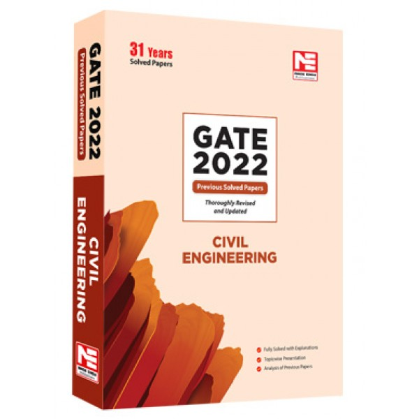 GATE-2022: Civil Engg. Previous Year Solved Papers (Made Easy)