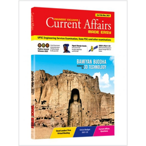 Current Affairs Quarterly Issue: Jan - March 2021 Made Easy