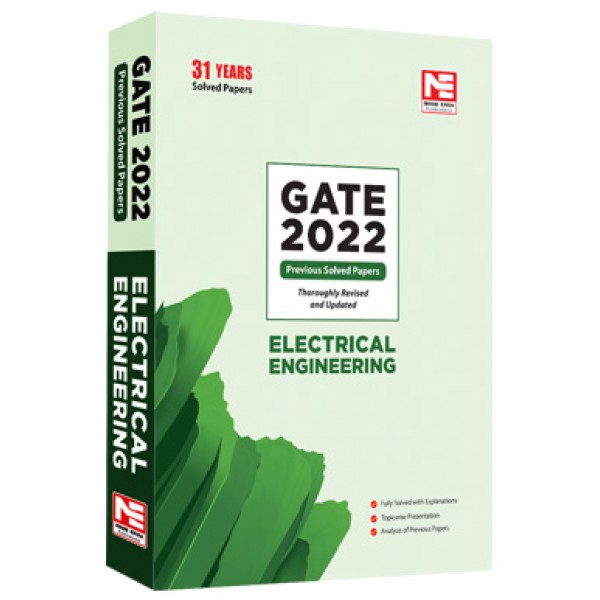 GATE-2022: Electrical Engg. Prev. Yr Solved Papers MADE EASY