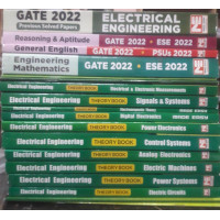 Electrical Engineering Classroom Study Package Original Books - 2022 for  GATE  (Set of Books-21 Made Easy)