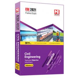 ESE 2021: Preliminary Exam: Civil Engg. Obj Vol-2 MADE EASY
