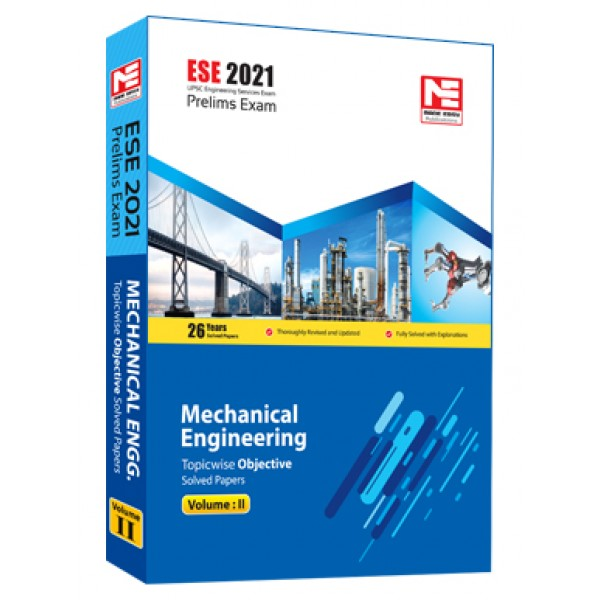 ESE 2021: Preliminary Exam: Mechanical Engg. Vol-2 MADE EASY