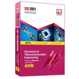 ESE 2021: Preliminary Exam: E&T Engg Obj Vol-1 MADE EASY