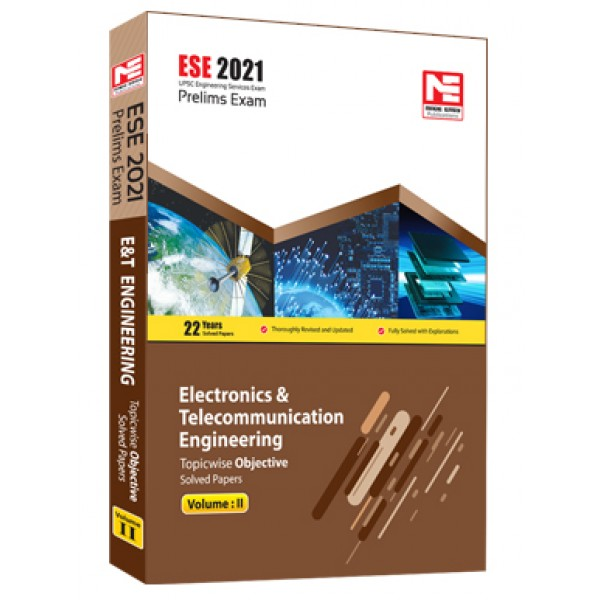 ESE 2021: Preliminary Exam: E&T Engg Obj Vol-2 MADE EASY