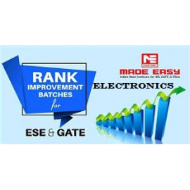 Rank Improvement Batches WorkBook Electronics Engineering With Solution Made Easy ESE + GATE : 2019-2020
