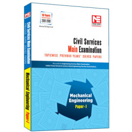 CIVIL SERVICES IAS MAINS 2020  ; Mechanical Engineering Topicwise Previous Years Solved Papers Vol -1 MADE EASY
