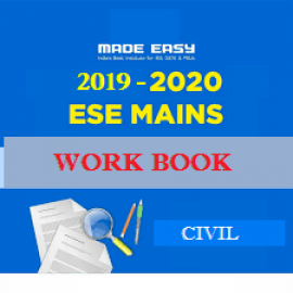 ESE MAINS 2017-2018 Batches WorkBook Civil Engineering With Solution Made Easy