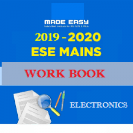 ESE MAINS 2017-2018 Batches WorkBook Electronics Engineering With Solution Made Easy