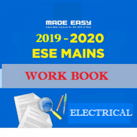 ESE MAINS 2019-2020 Batches WorkBook Electrical Engineering With Solution Made Easy