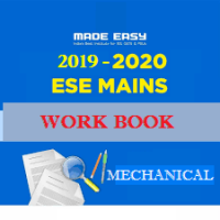 ESE MAINS 2019-2020 Batches WorkBook Mechanical Engineering With Solution Made Easy