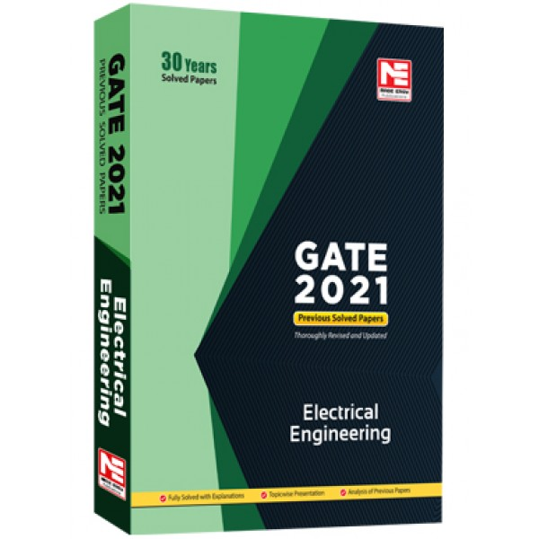 GATE-2021: Electrical Engg. Prev. Yr Solved Papers MADE EASY