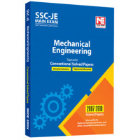 SSC: JE Mechanical Engineering - Prev. Yr Conv. Solved Papers Made Easy