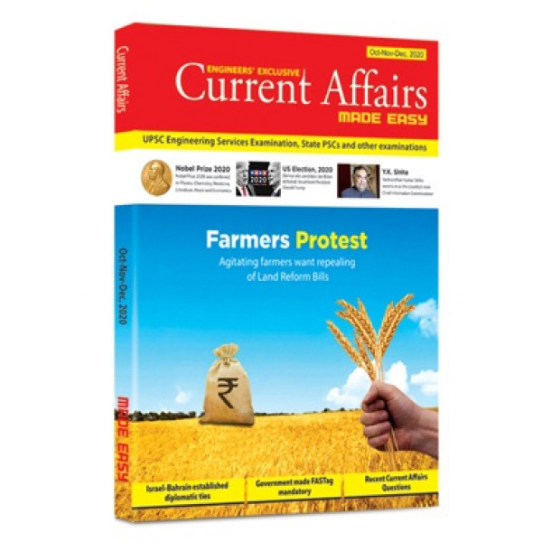 Current Affairs Quarterly Issue: Oct - Dec 2020 made easy