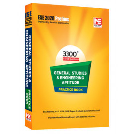 ESE2020 General Studies & Engg. Aptitude Practice  3300+ Solved Question Book  (Made Easy)
