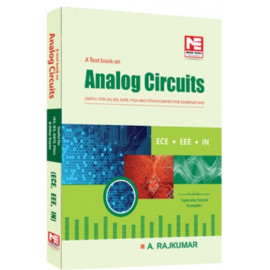 A Text Book on Analog Electronics: EE/E&T/IN (Made Easy)