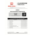 Instrumention Engineering Classroom Study Package - 2019 : for GATE (Set of Books-19 Made Easy)