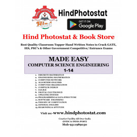Computer Science & IT Engineering Gate Hand Written Notes (Set of 14 Subjects) Made Easy
