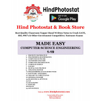 Computer Science & IT Engineering Gate & Psu Hand Written Notes (Set Of 19 Subjects) Made Easy