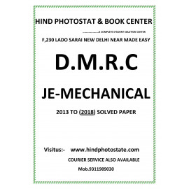 DMRC Junior Engineer mechanical Engineering Previous Years' Solved Papers ( 2013 - 2018 )