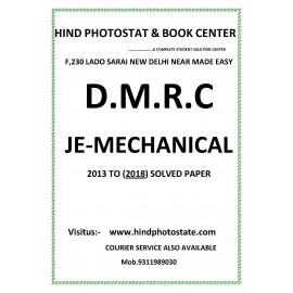 DMRC Junior Engineer mechanical Engineering Previous Years' Solved Papers ( 2013 - 2018 )