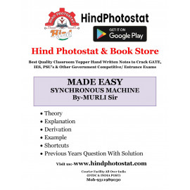 Electrical Engineering Handwritten Notes Synchronous Machine  BY-Murli Sir Made Easy