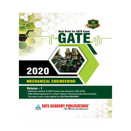 GATE 2020 Mechanical Engineering Volume I    GATE ACADEMY