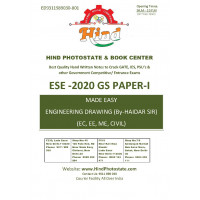 General Principles Of Design, Drawing , Imp.of Safety Handwritten Notes For ESE - 2021 Prelims: Paper- 1 Engineering Aptitude (By-Haider Sir & Aniruddh Sir Made Easy)