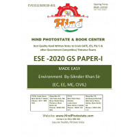 Basics of Energy and Environment Handwritten Notes For ESE - 2020 Prelims: Paper- 1 Engineering Aptitude (By- Sikander Khan  Made Easy)