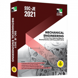 SSC-JE 2021 MECHANICAL ENGINEERING PREVIOUS YEARS TOPIC WISE OBJECTIVE DETAILED SOLUTION WITH THEORY IES MASTER