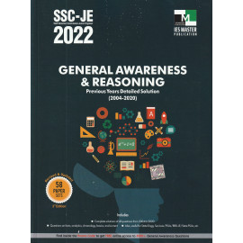 SSC-JE 2022 GENERAL AWARENESS & REASONING PREVIOUS YEARS DETAILED SOLUTION (Ies Master)