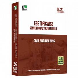 ESE 2021 - CIVIL ENGINEERING ESE SUBJECTWISE CONVENTIONAL SOLVED PAPER 2 IES MASTER