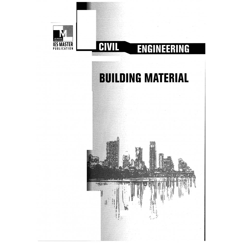 Building Material Civil Engineering Printed material IES MASTER