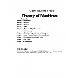 Theory of Machine Printed Material By-SK mondal
